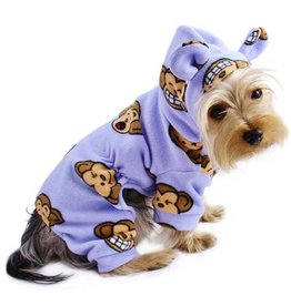 Silly Monkey Pajamas Lavender