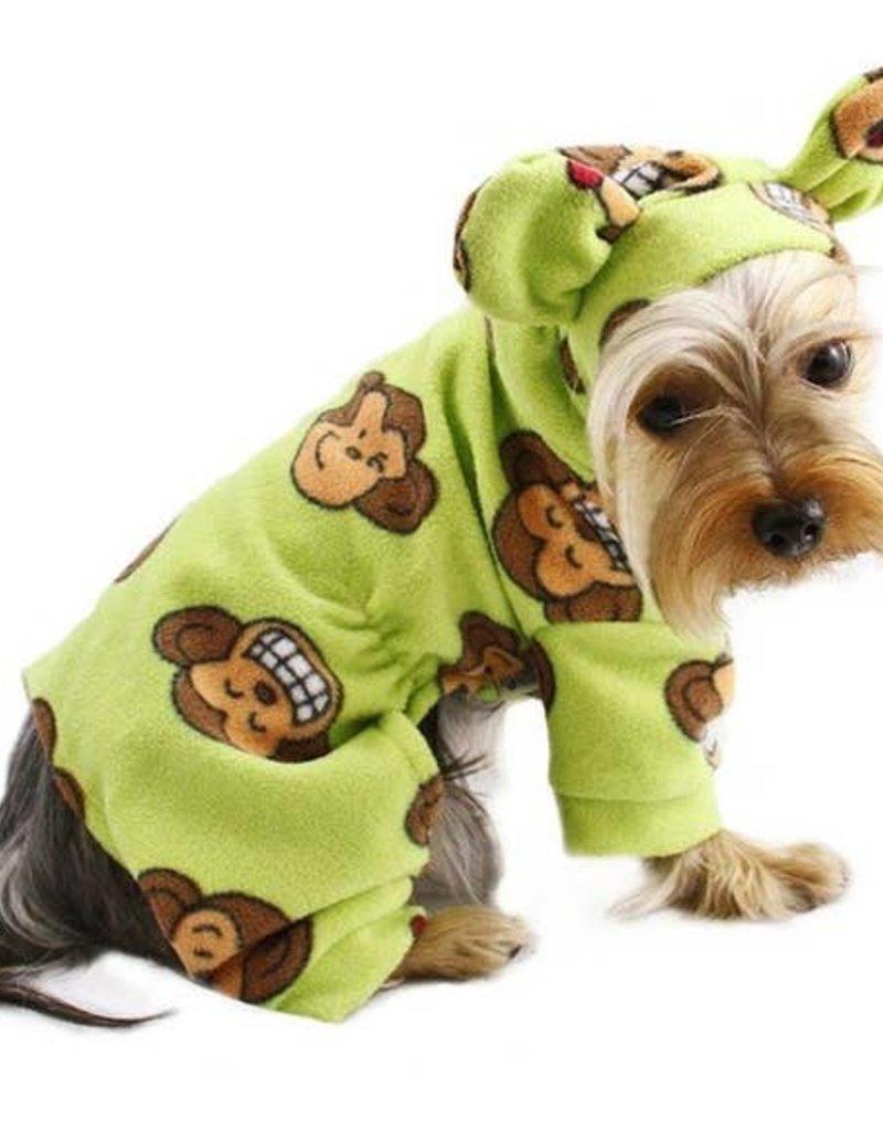 Silly Monkey Pajamas Lime