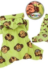 Silly Monkey Pajamas Lime