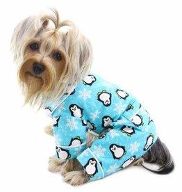Penguin Pajamas Turquoise