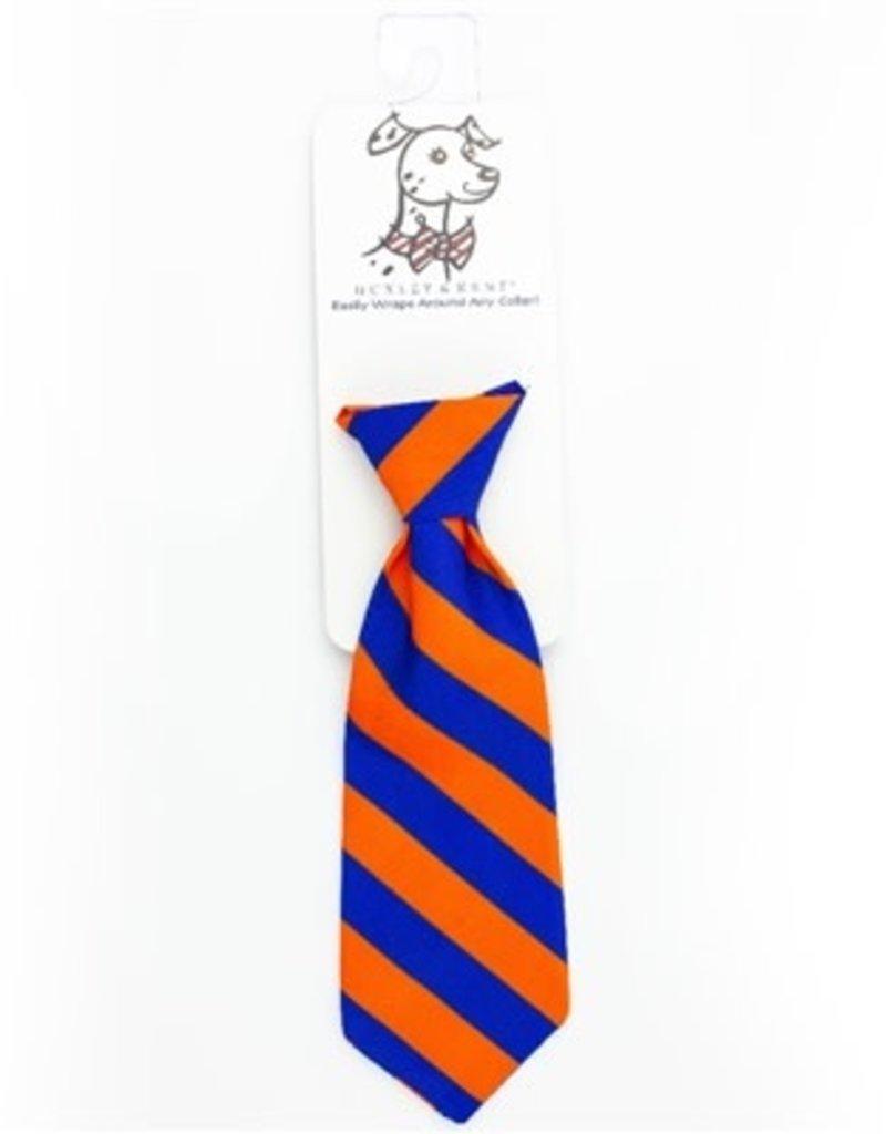Orville Long Tie Boise Blue/Orange