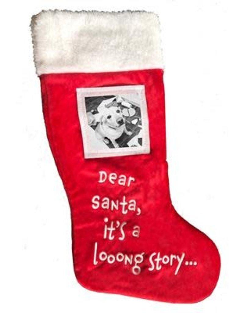 Holiday Stocking - Dear Santa