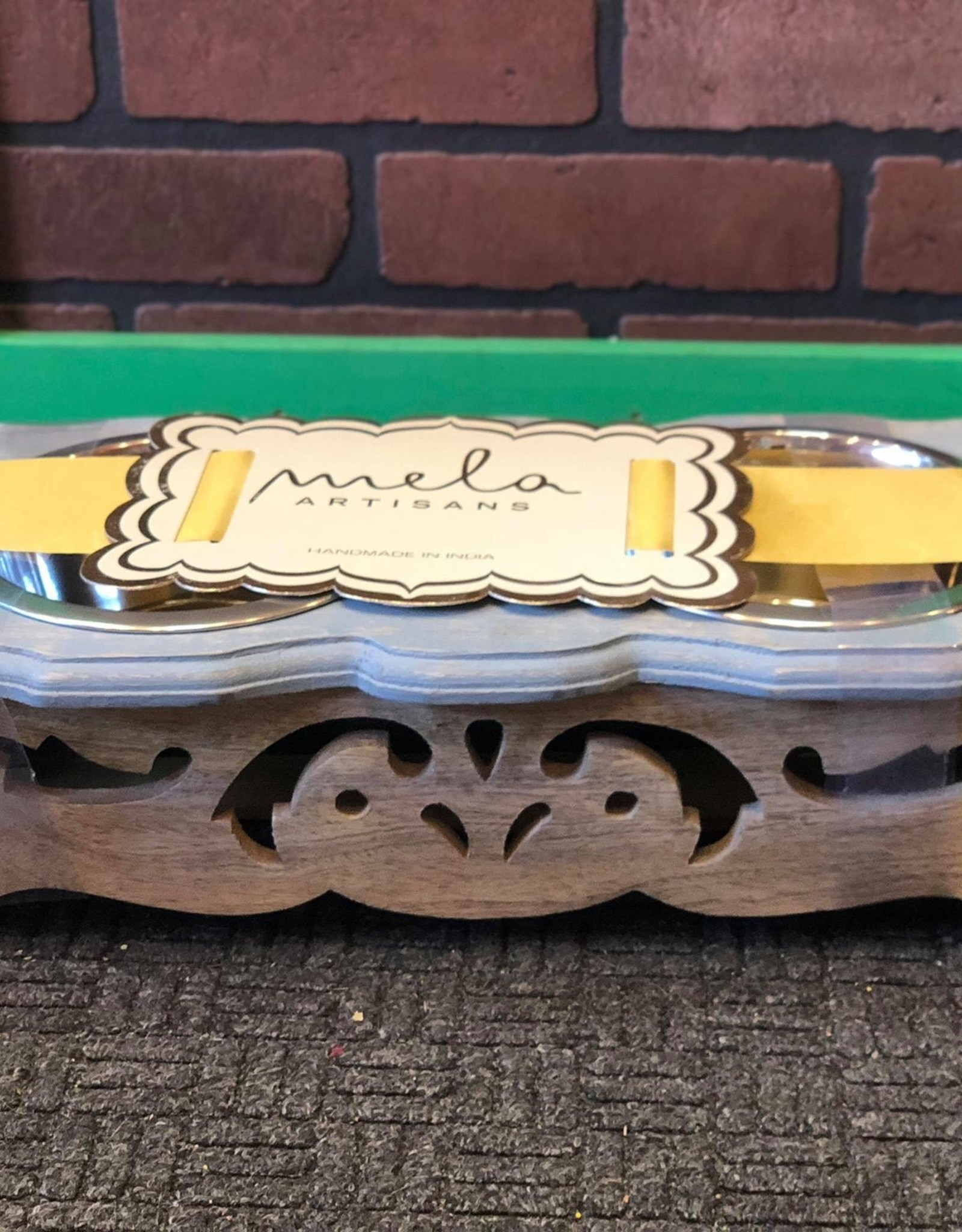 Chihuahua Pet Feeder in Distressed Dusk