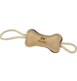 Tall Tails Tall Tails Natural Wool Bone Tug Toy