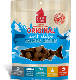 Plato Pet Treats Plato Natural Salmon Strips