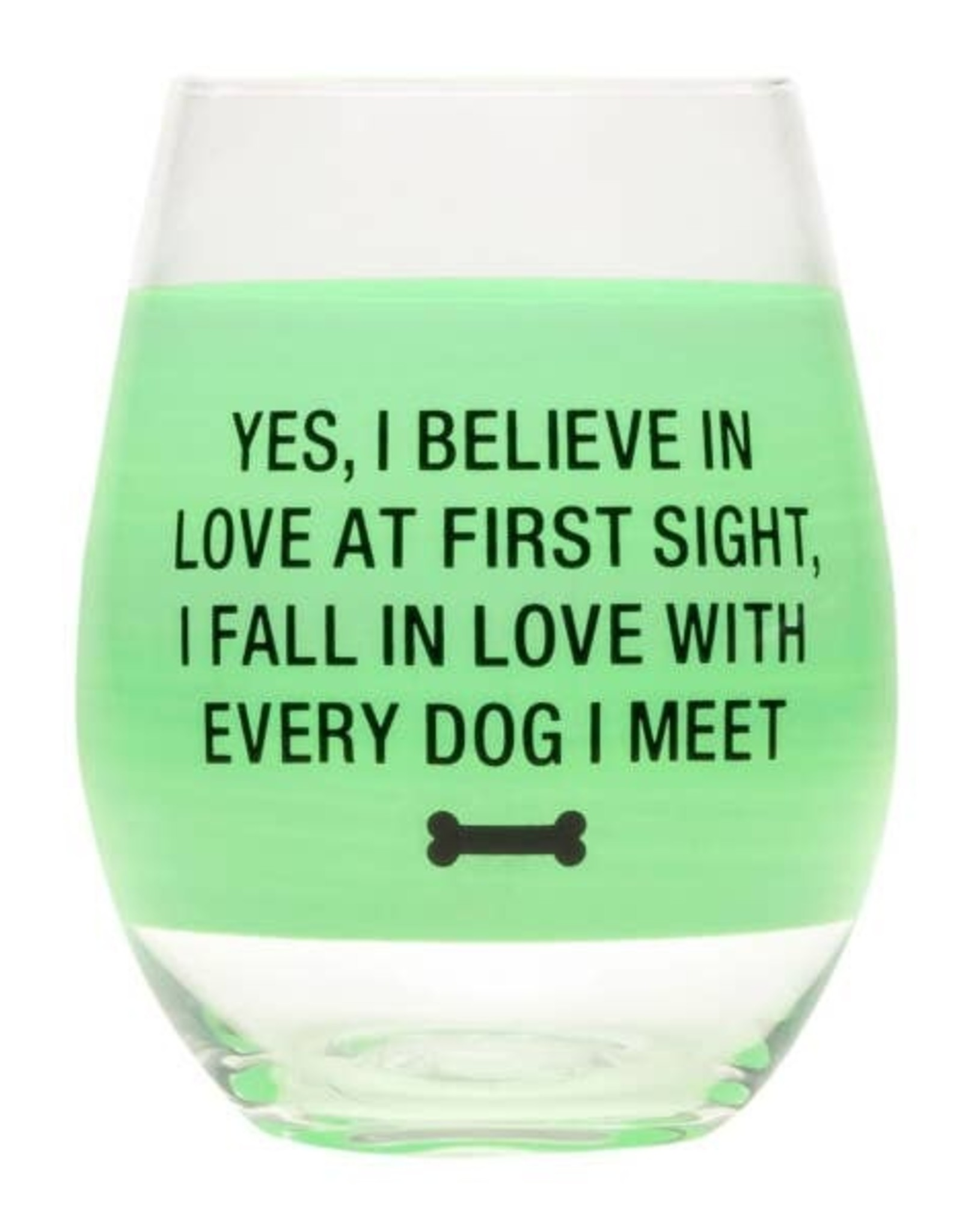 Stemless Wine Glass - Love At First Sight