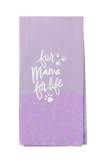 Kitchen Tea Towel - Fur Mama For Life