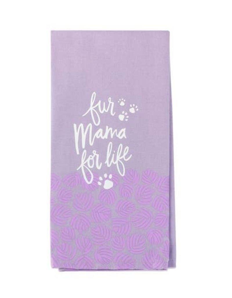 Kitchen Tea Towel - Fur Mama For Life