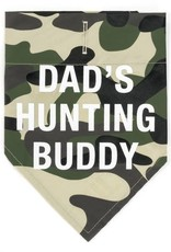 Say What? Bandana - Dad's Hunting Buddy L/XL