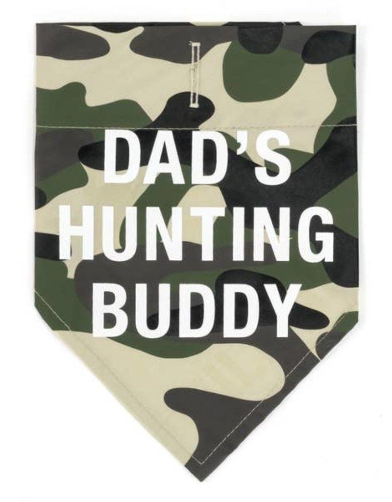 Say What? Bandana - Dad's Hunting Buddy L/XL