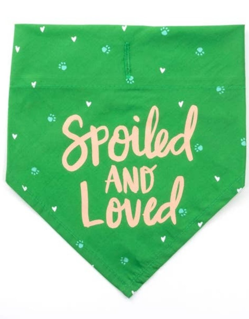 Say What? Bandana - Spoiled and Loved L/XL