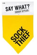 Say What? Bandana - Sock Thief L/XL