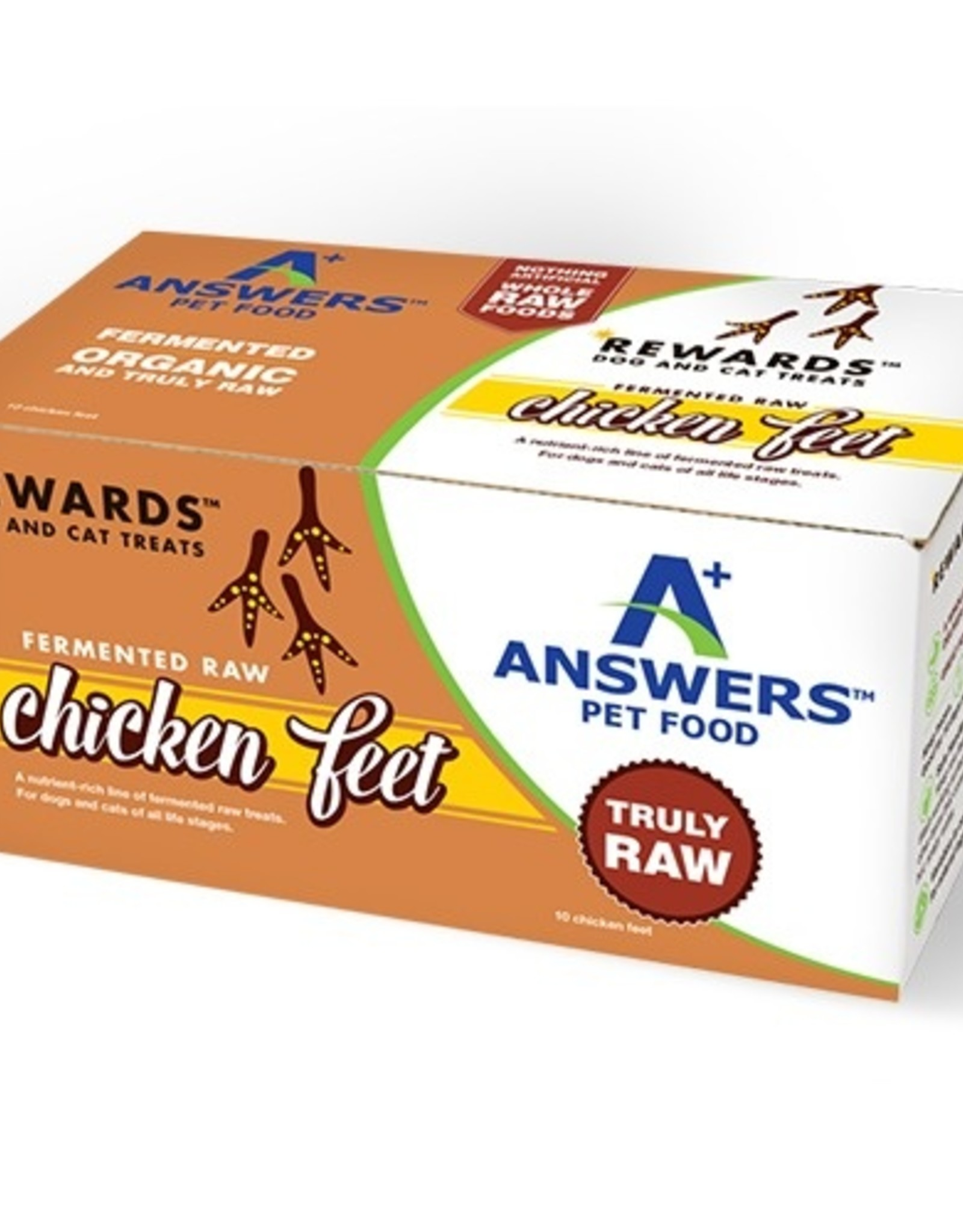 Answers Answers Fermented Chicken Feet 10ct