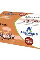 Answers Answers Fermented Raw Pig Feet (4 Pig Feet Halves)