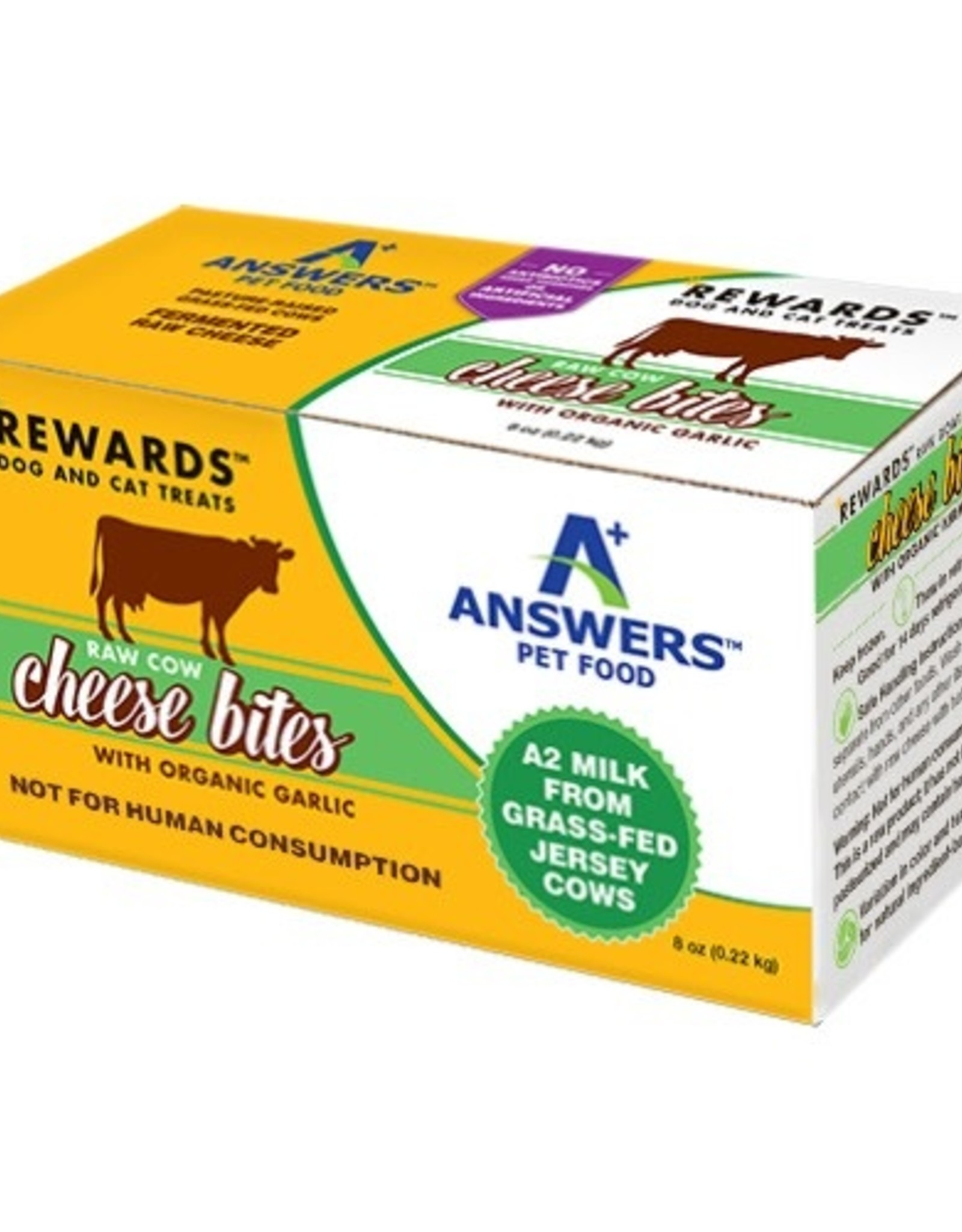 Answers Answers Raw Cow Cheese Organic Garlic