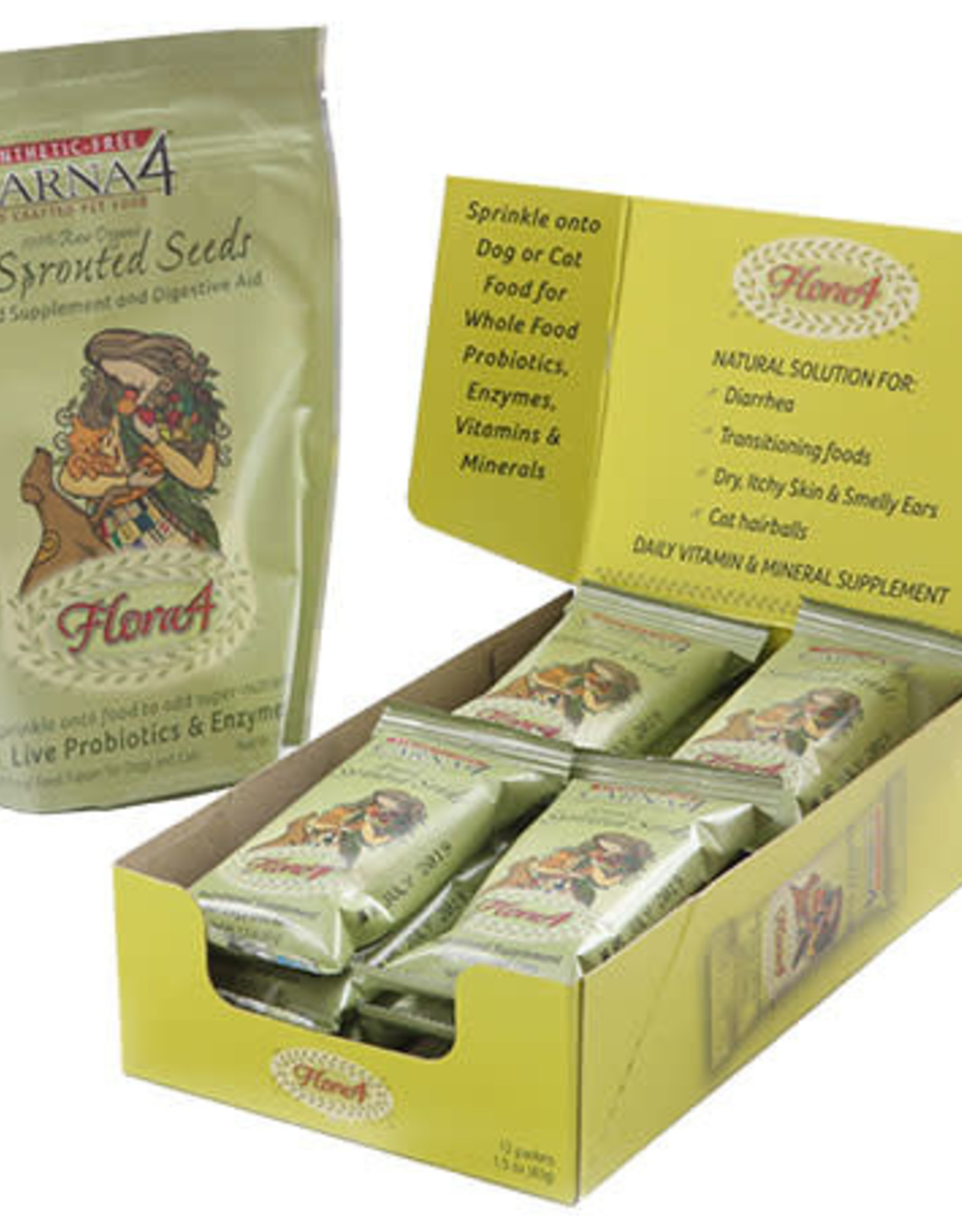 Carna4 Carna4 Flora4 Sprouted Seeds