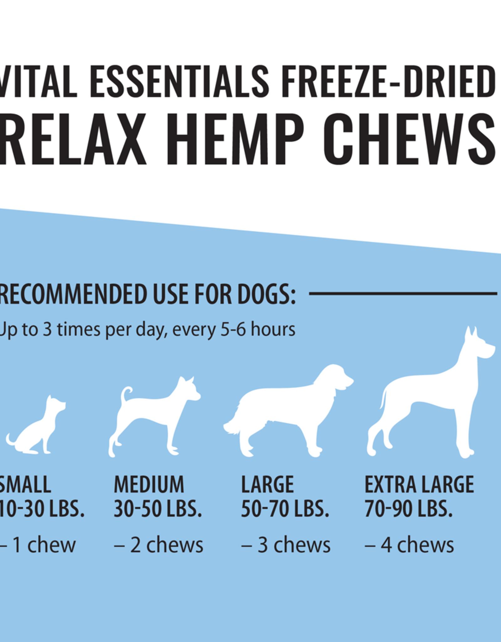 Vital Essentials Vital Essentials RELAX Hemp Chews