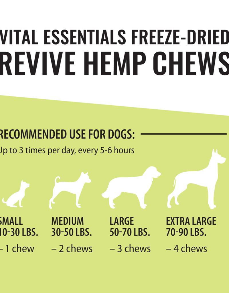 Vital Essentials Vital Essentials REVIVE Hemp Chews