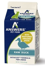 Answers Answers Detailed Duck Formula for Dogs