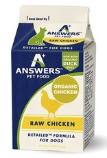 Answers Answers Detailed Chicken Formula for Dogs