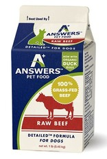 Answers Answers Detailed Beef Formula for Dogs