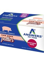 Answers Answers Detailed Pork Formula for Dogs