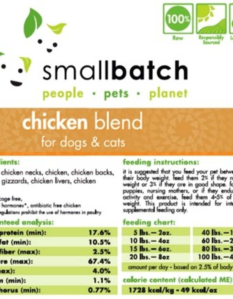 Smallbatch Smallbatch Chicken Blend 5lb