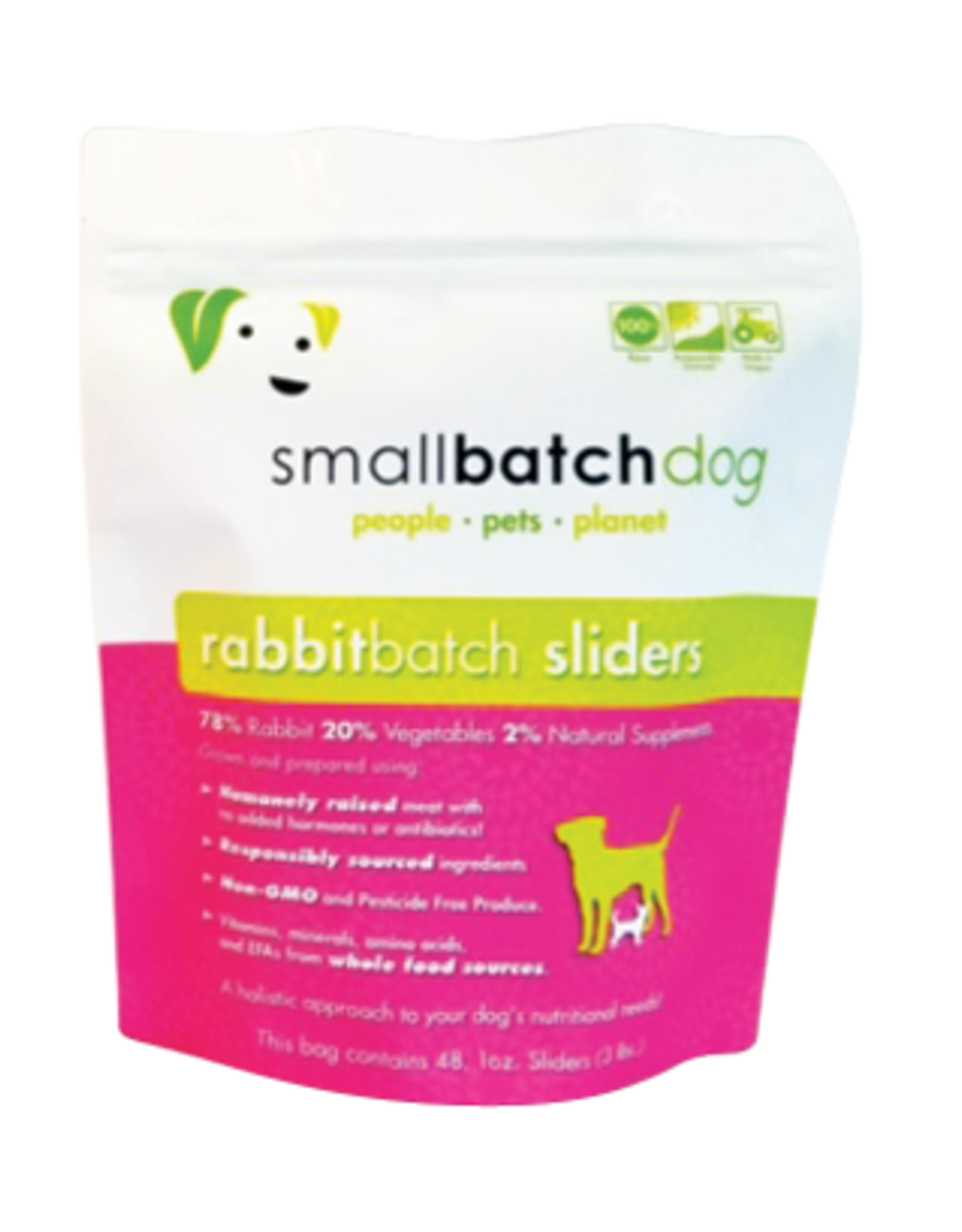 Smallbatch Smallbatch Frozen Rabbit Sliders 3lb