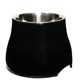 Dogit Elevated Dish Black - Large