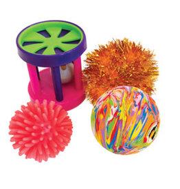 Hagen Furry Frolics Assorted Toys 4 Pack