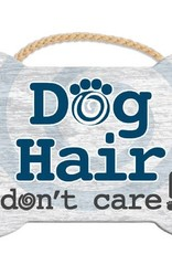 Dog Speak Dog Speak Rope Hanging Sign - Dog Hair don't care!