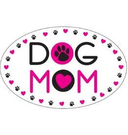Dog Speak Car Magnet: Dog Mom