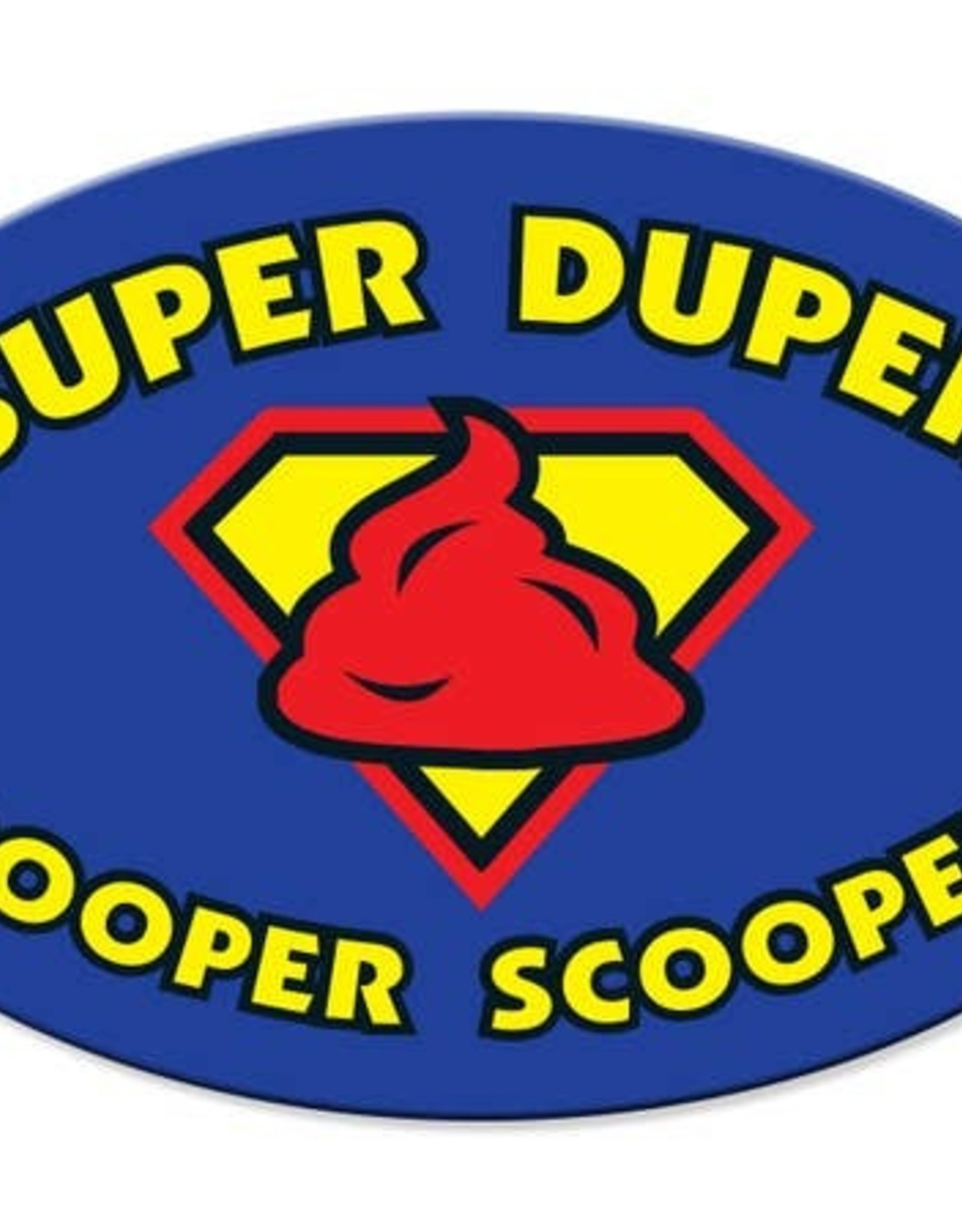 Dog Speak Car Magnet: Super Duper Pooper Scooper