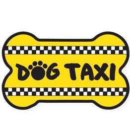 Dog Speak Car Magnet: Dog Taxi