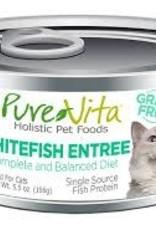 PureVita PureVita 96% Whitefish Entree Cat 5.5oz