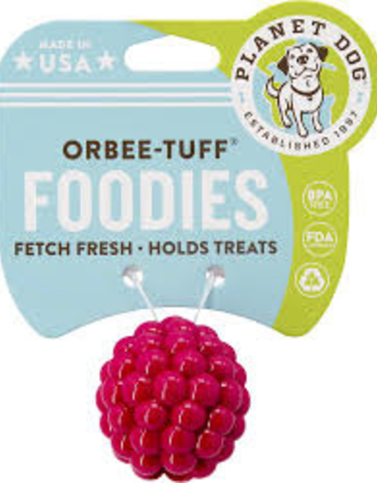 Planet Dog Orbee Raspberry 1.75""