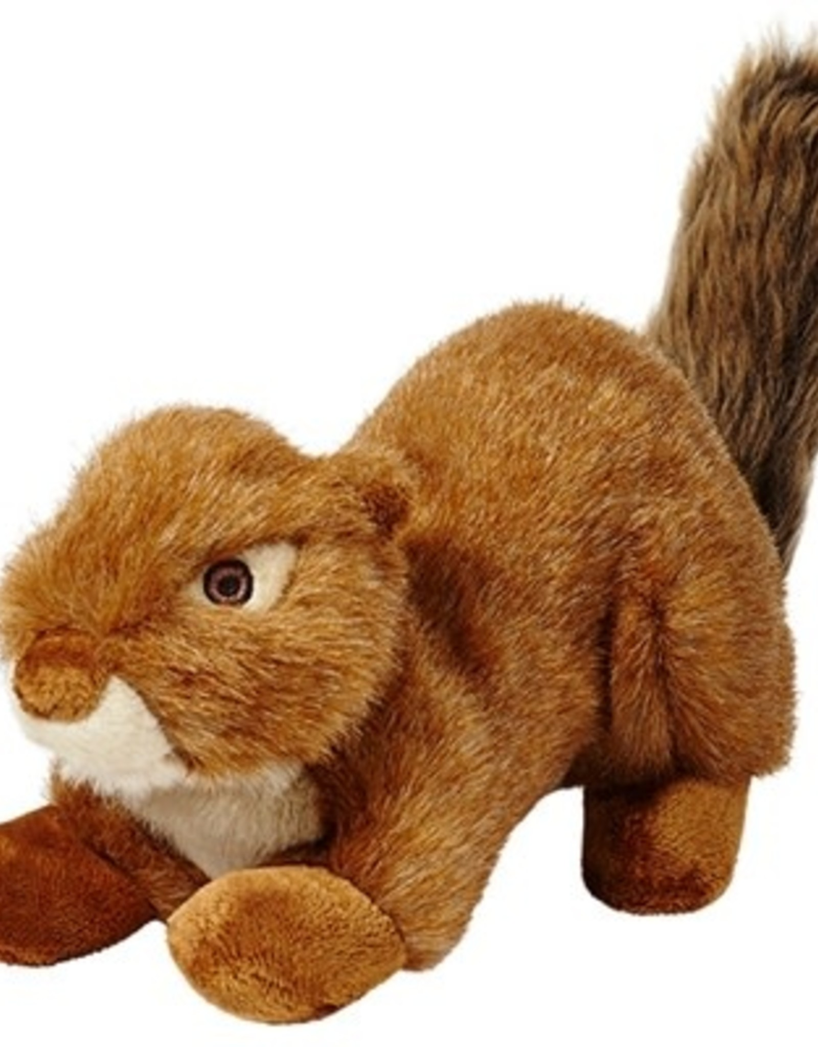 Fluff & Tuff Fluff & Tuff Red Squirrel Squeakerless