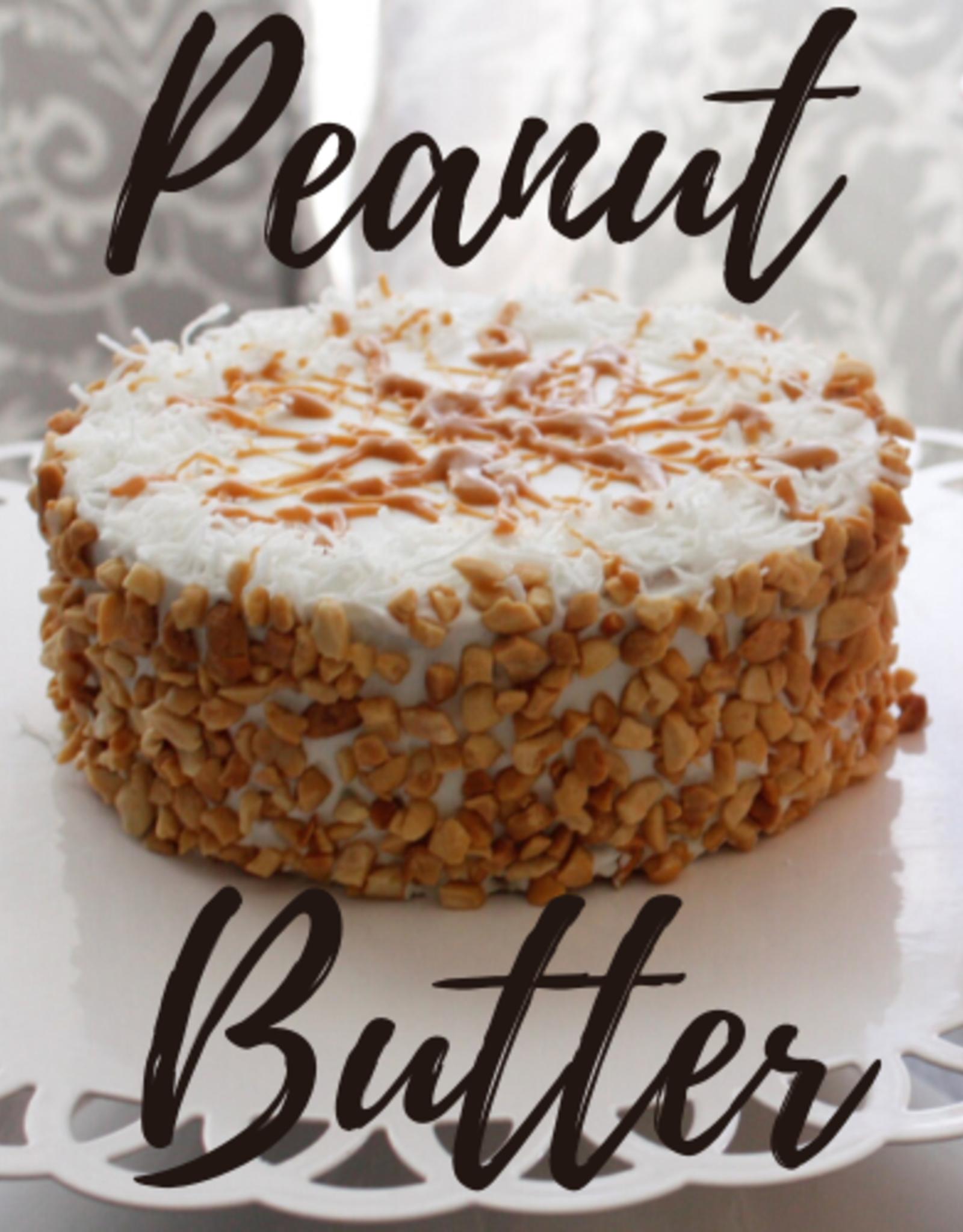 Idaho Barkery Peanut Butter Birthday Cake