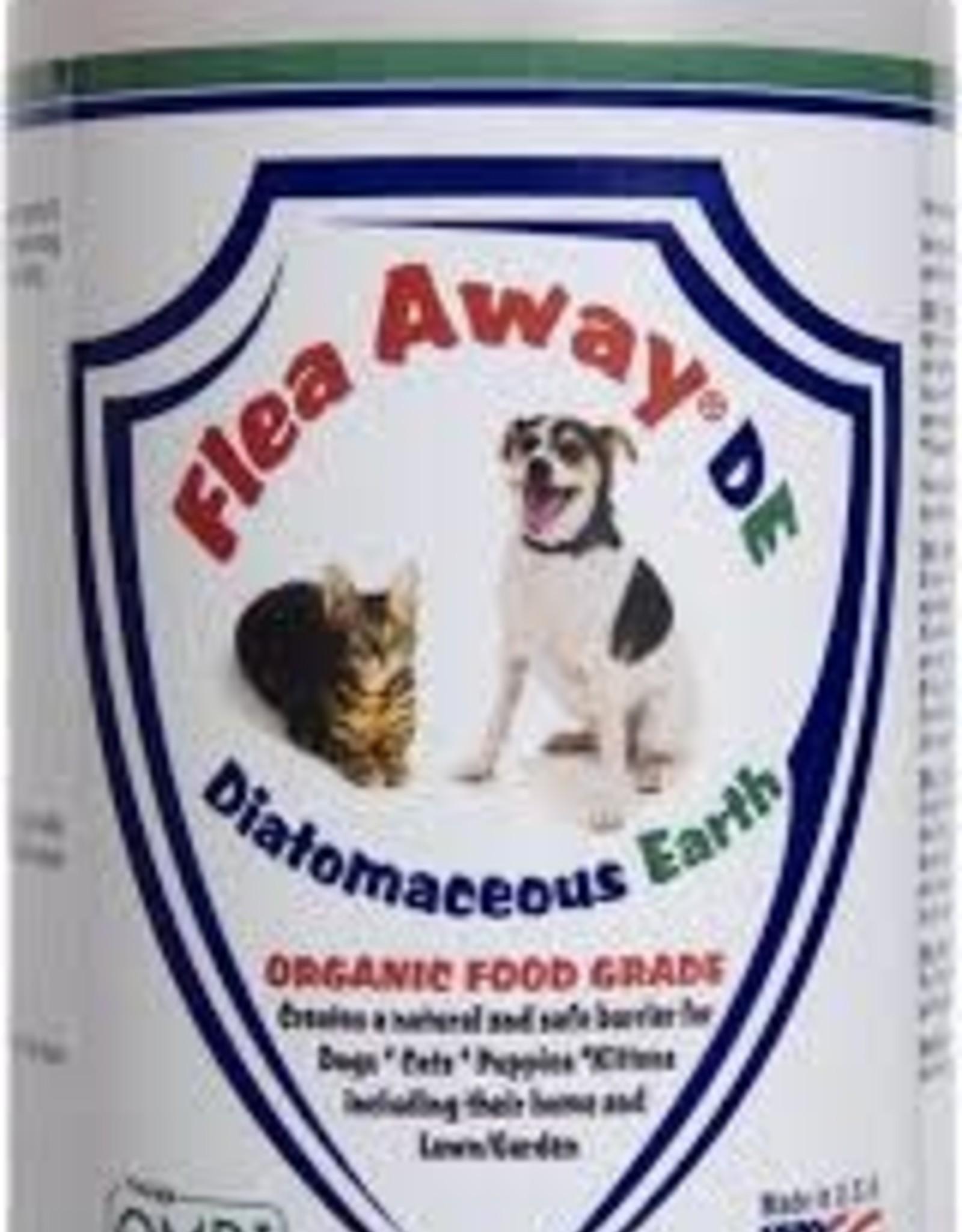 Flea Away Diatomaceous Earth Organic Food Grade Powder 12oz
