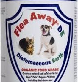 Flea Away Diatomaceous Earth Organic Food Grade Powder 12oz