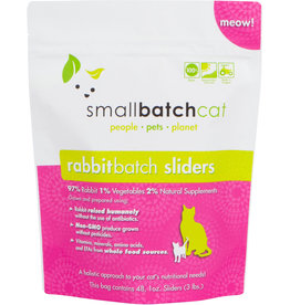 Smallbatch Smallbatch Cat Rabbit Sliders 3lb