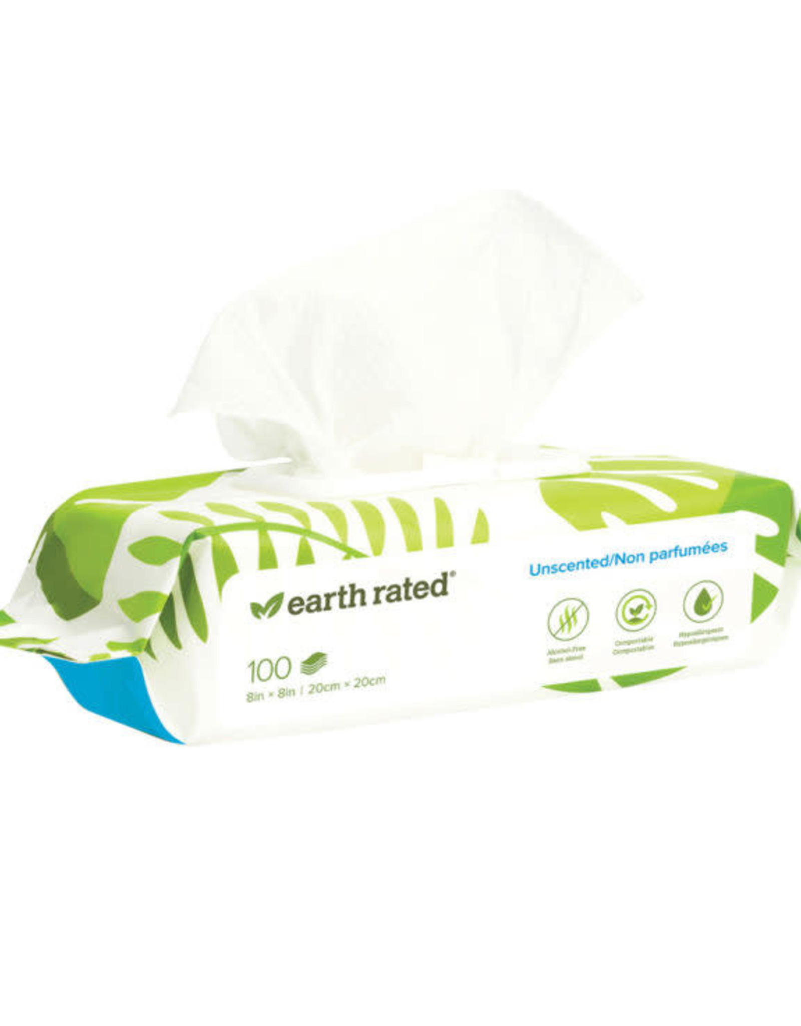 Earth Rated Earth Rated Unscented Wipes