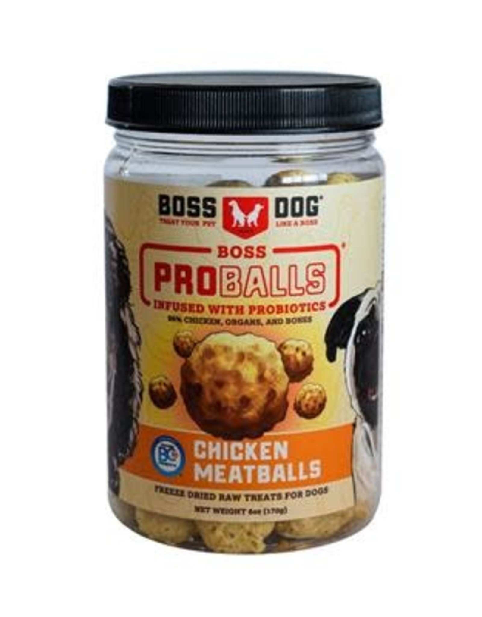 Boss Dog Boss Dog Freeze Dried Meatballs Chicken