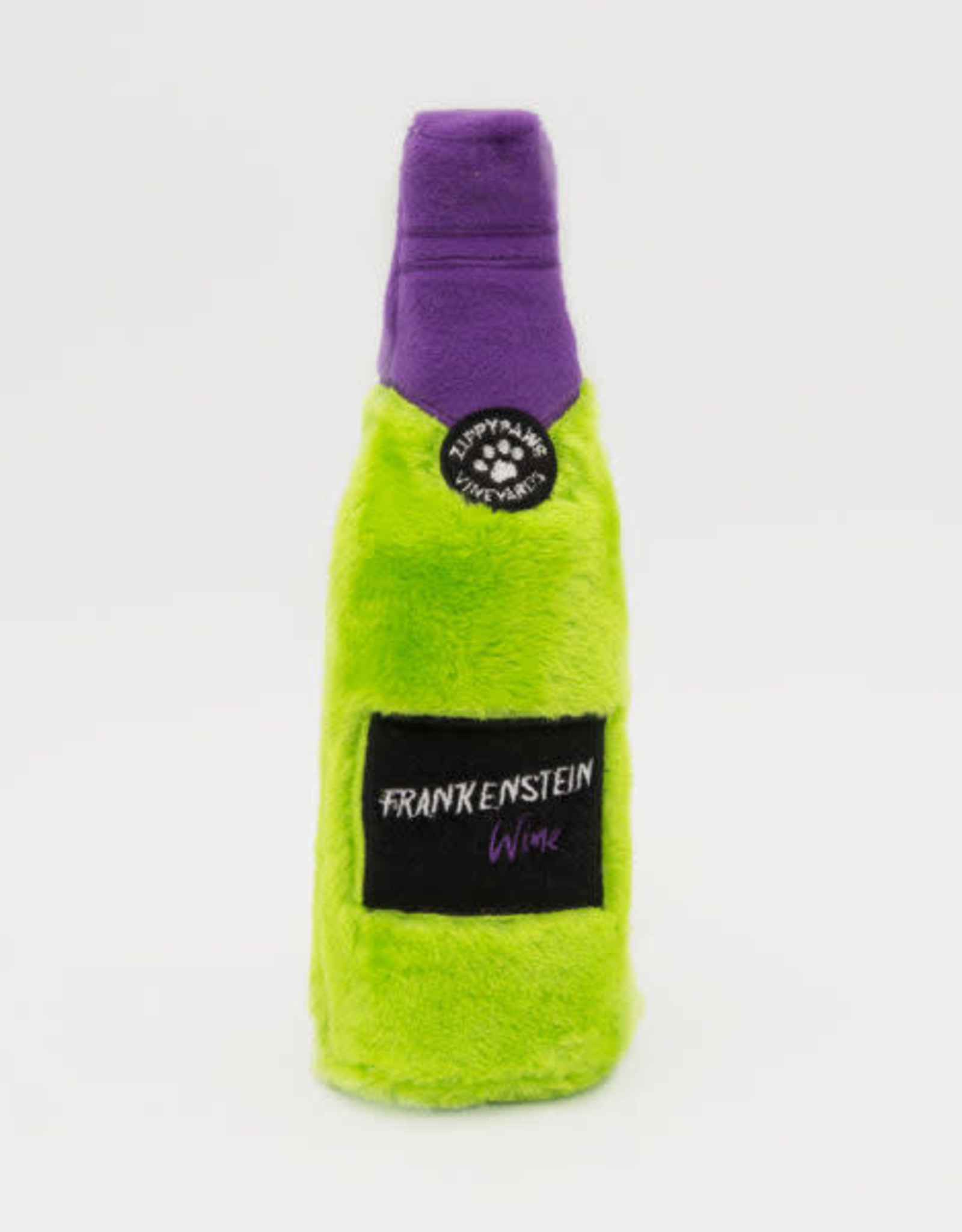 ZippyPaws SALE - ZippyPaws Halloween Happy Hour Crusherz - Frankenstein Wine
