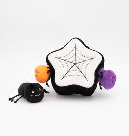 ZippyPaws ZippyPaws Halloween Burrow - Spider Web