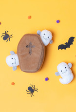 ZippyPaws ZippyPaws Halloween Burrow - Coffin with Ghosts