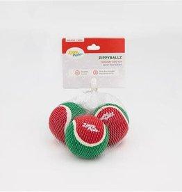 ZippyPaws ZippyPaws Holiday Balls  - 3 Pack