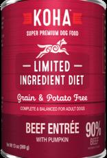 Koha Koha Limited Ingredient Beef Entree for Dogs 13oz