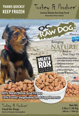 OC Raw Dog OC Raw Dog Turkey & Produce