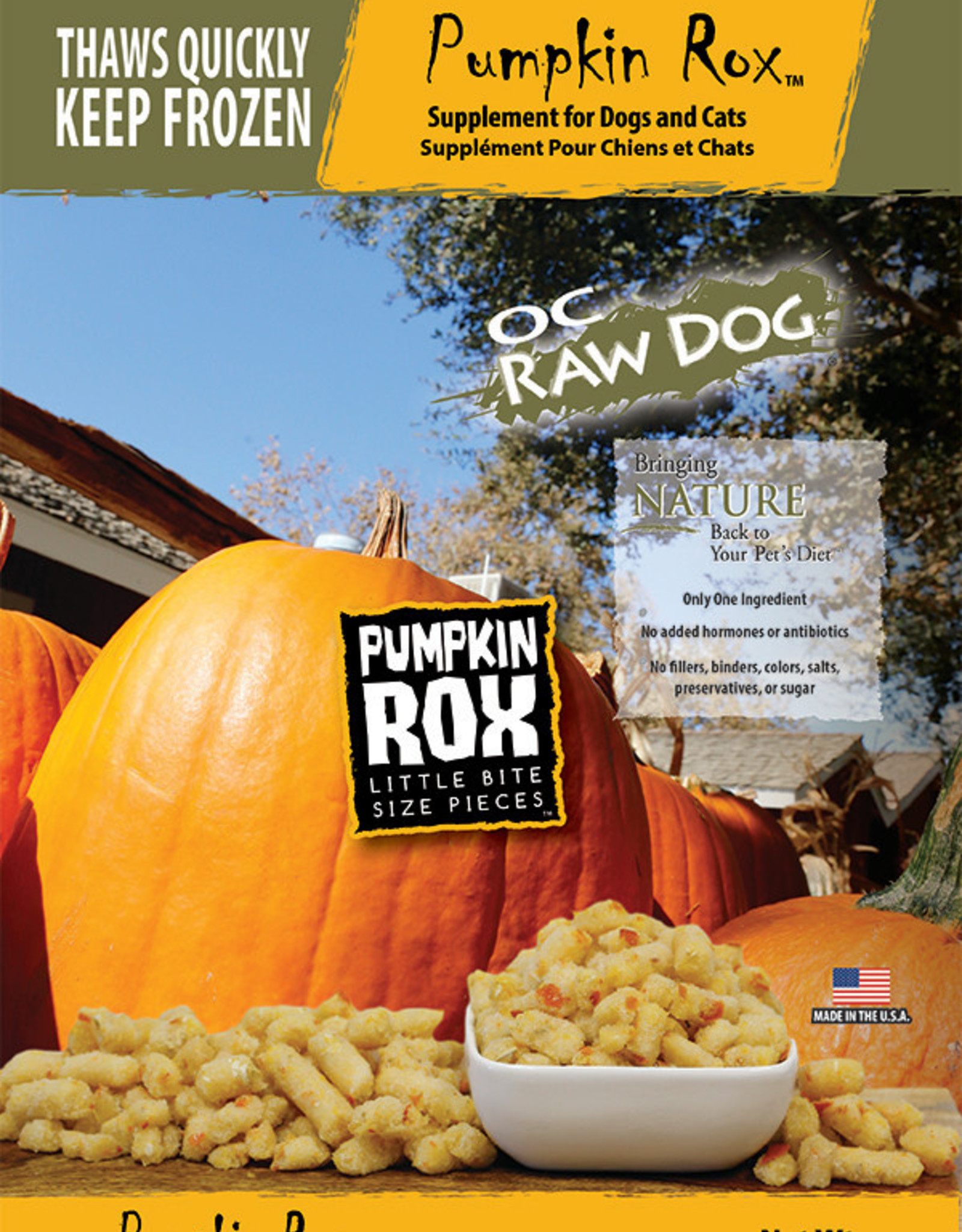OC Raw Dog OC Raw Dog Frozen Pumpkin Rox